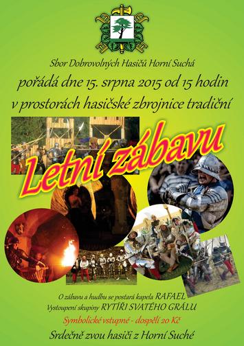 Letní zábava - SDH Horní Suchá
