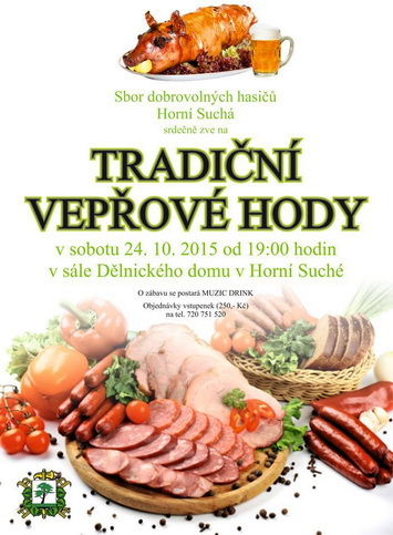 Vep�ov� hody - SDH Horn� Such�