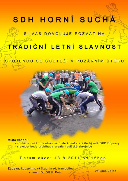 Letní slavnost Horní Suchá 2011